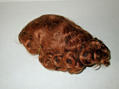 Vintage 1940's 1950's Mohair Wig For Composition or Hard Plastic Dolls