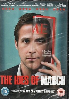 THE IDES OF MARCH - Ryan Gosling, George Clooney - DVD *NEW & SEALED*