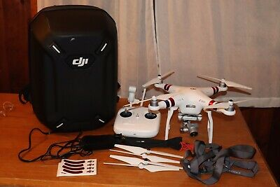 DJI Phantom 3 Standard Quadcopter Drone HD 2.7K with ultra protection backpack