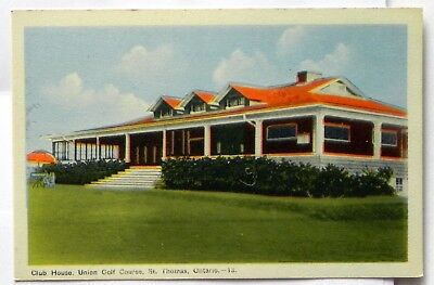 Club House, Union Golf Course, St. Thomas, Ontario,  Canada Postcard B363