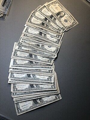 1935 $1 United States Silver Certificate (LOT OF 50 NOTES) #3