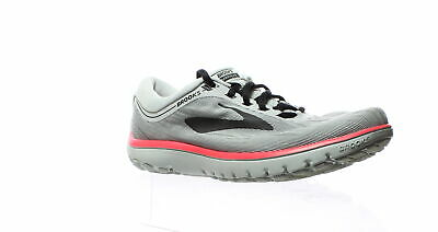ac0ed1e4fc5db Brooks Womens Pureflow 7 Grey Black Pink Running Shoes Size 8 (204446)