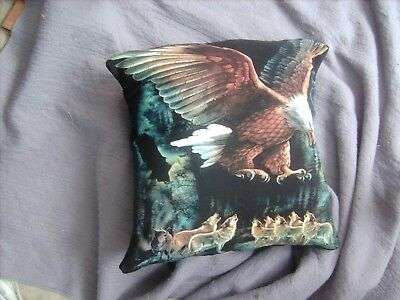 Eagle And  Wolf       Cushion 16 Inch/ 40 Cm