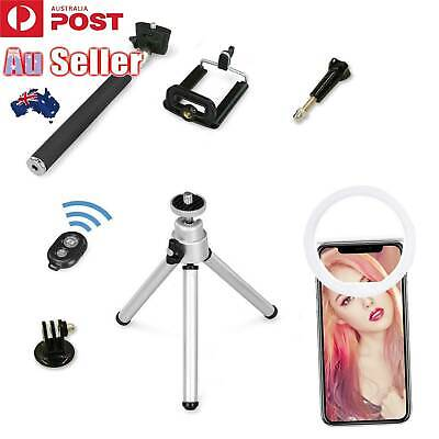 Unipod Selfie Stick Handheld Tripod Bluetooth Shutter For iPhone XS Samsung S10