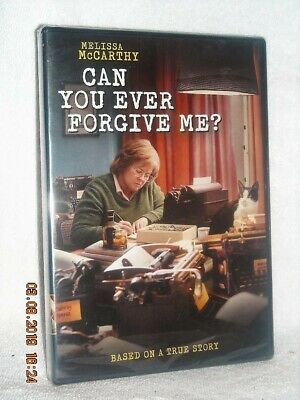 Can You Ever Forgive Me (DVD, 2019) NEW Melissa McCarthy Richard E Grant oscar