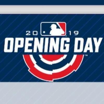 2019 Topps Opening Day MLB Baseball Insert Cards (All Versions Included)