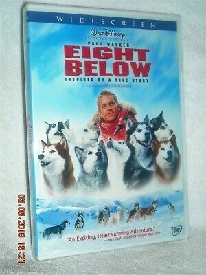 Eight Below (DVD, 2006) NEW DISNEY Paul Walker Jason Biggs Bruce Greenwood