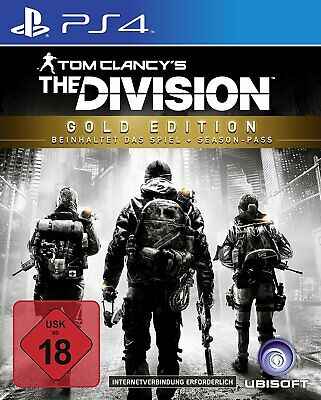 PS4 - TOM CLANCY´S THE DIVISION - Gold Edition - Playstation 4 - USK 18