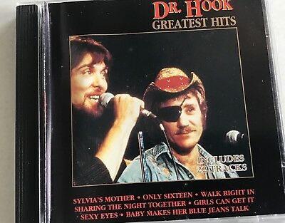 DR HOOK - Greatest Hits CD - 22 Songs - EMI Capitol label.