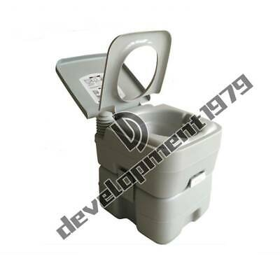 Portable Toilet Flush Travel Camping Outdoor/Indoor Potty Commode 20L