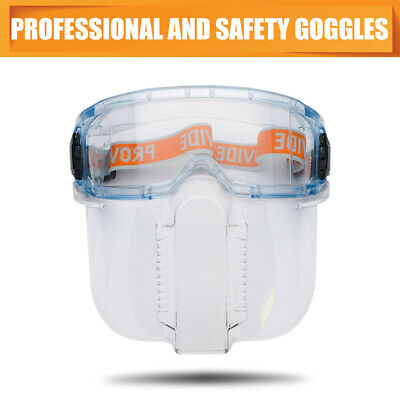 Angle grinding & cutting goggles with face shield attachment - eye protection