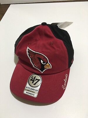 5c01735bd42bb Arizona Cardinals -  47 NFL Women s Sparkle Two Tone Clean Up Adjustable Hat