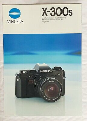 Minolta X-300s Film Camera, A4-Product Brochure