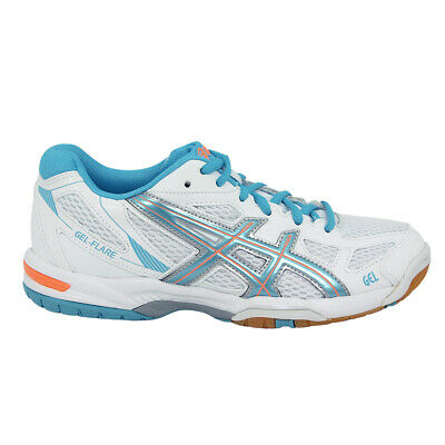 Homme Eur Ball 30 5 Flare Chaussures Gel Blanc Asics Volley nw0Pk8O