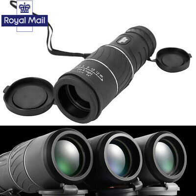 Day & Night Vision HD Optical Monocular Hiking Hunting Camping Telescope 30x52