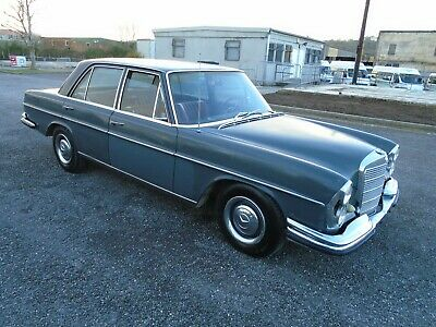 Mercedes 250S 2.5 Lhd Auto W108 4Dr(1967) Grey 99% Rust Free Rare Project No Res