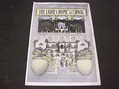 1901 June Ladies' Home Journal Magazine - Maxfield Parrish Front Cover - St 4462