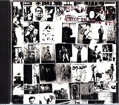 THE ROLLING STONES Exile On Main Street CD Album (2010) 1972 Rock & Roll