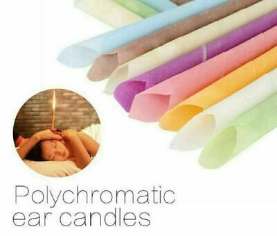 10/20pc Earwax Candles Hollow Blend Cones Beeswax Straight Speaker Clean Massage