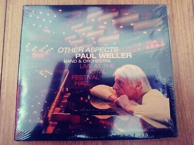 PAUL WELLER OTHER ASPECTS LIVE 2 x CD PLUS DVD BRAND NEW SEALED