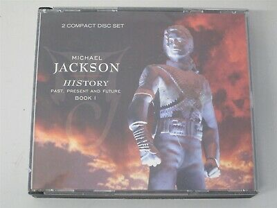 MICHAEL JACKSON- History 2-CD (The Best of/Greatest Hits) Bad/Thriller 80s 90s
