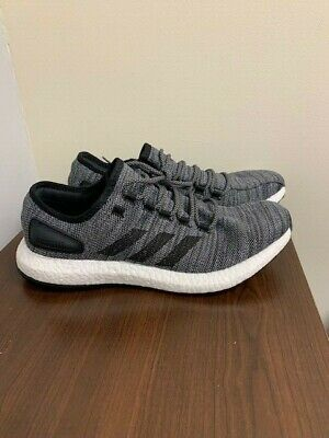 uk availability ab9ca d76fc ADIDAS PURE BOOST All Terrain Mens Sneakers - Grey, Black (NEW) Size 12  Boost