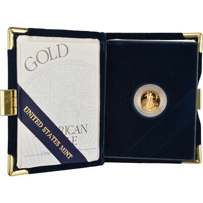 2000-W American Gold Eagle Proof (1/10 oz) $5 in OGP