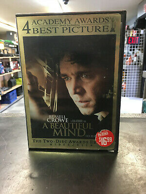 A Beautiful Mind *Buy 1 Get 1 Free*  (DVD, 2002, 2-Disc Set)