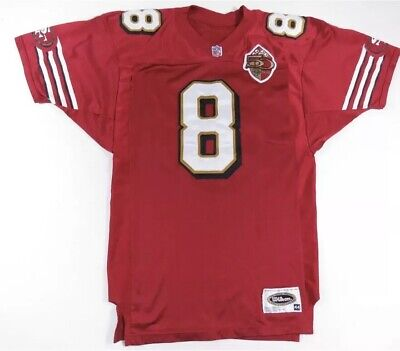 70de4d405 Steve Young San Francisco 49Ers 1996 Authentic Wilson Game 50Th Patch Jersey  44