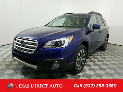 2016 Subaru Outback 3.6R Limited Texas Direct Auto 2016 3.6R Limited Used 3.6L H6 24V Automatic AWD SUV