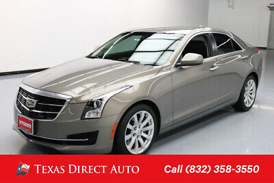 2017 Cadillac ATS RWD Texas Direct Auto 2017 RWD Used Turbo 2L I4 16V Automatic Sedan Bose Premium