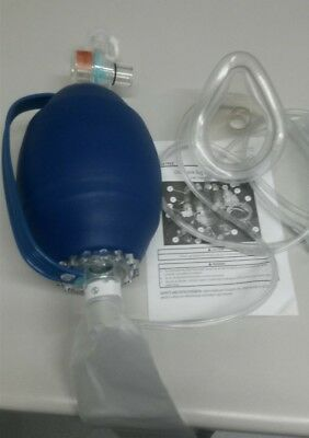 Allied Disposable  Aduilt Bag Valve Mask Latex Free.