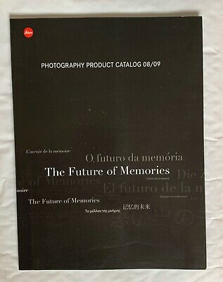 Leica Photography Product  A4 CataloG 2008/2009