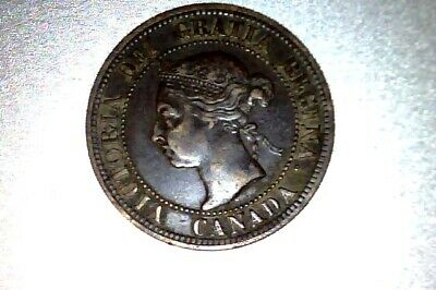 1891 Ll Sd #3  Canada   Large Cent        #Q083