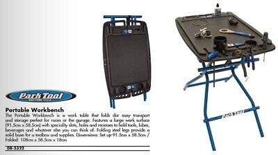 Park Tool Pb-1 Portable Workbench Work Bench Work Table Shop Table