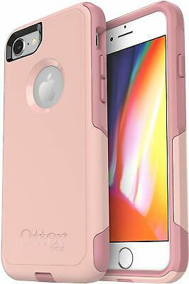 OtterBox Commuter Case for iPhone 8 & 7, Easy-Open Packaging, Pink Blush