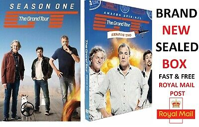 The Grand Tour Season 1-2 DVD Brand New Sealed All UK Compatible Free Postage