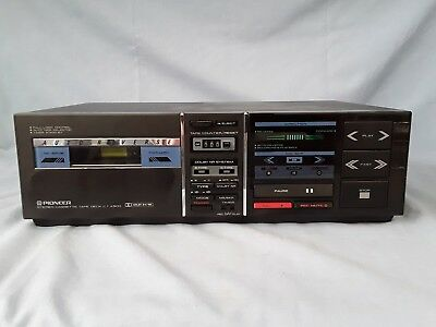 Pioneer CT-X500 Stereo Cassette Tape Deck mit Auto Reverse