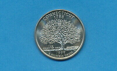 1999 D Connecticut *new* Uncirculated State Quarter