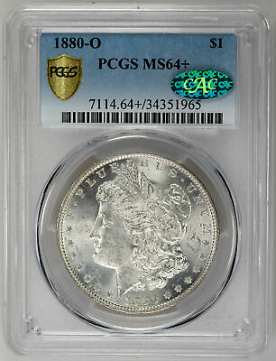 1880-O $1 Morgan Dollar - PCGS MS64+ CAC Approved