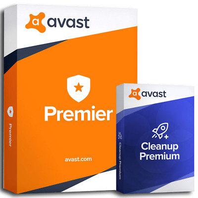 Avast PREMIER  2019 Full Versio Antivirus & Cleanup with License for 1 PC 2 year