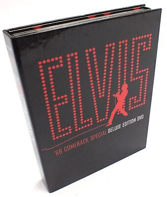 ELVIS '68 COMEBACK SPECIAL DELUXE EDITION DVD 2004 Region 0/ ALL  - D17