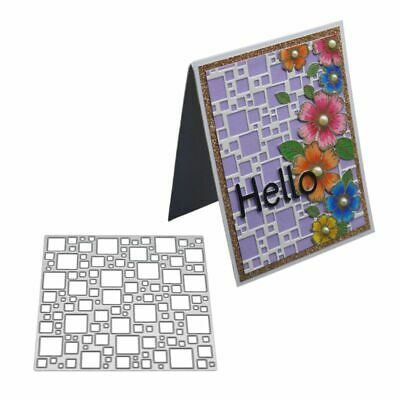 Rectangle Cutting Dies Stencil Scrapbooking Paper Card Embossing DIY Craft