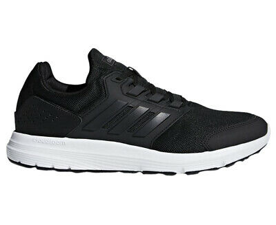 Adidas Men's Galaxy 4 Running Sports Shoes - Core Black/Core Black