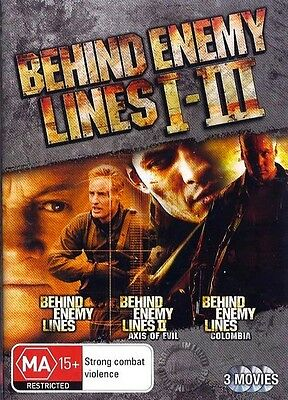 BEHIND ENEMY LINES Trilogy 1 2 3 : NEW DVD
