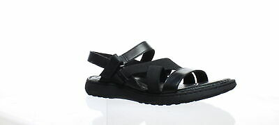 a0e44d313fc6 Born Womens Manta Black Sandals Size 8 (203628)