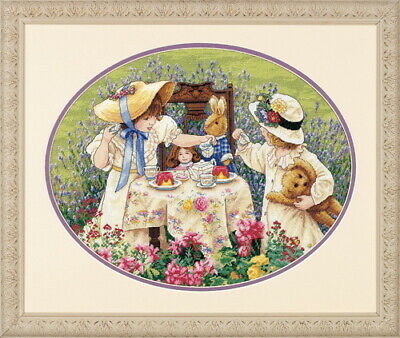 Dimensions Counted Cross Stich the Gold Collection Afternoon Tea 35152