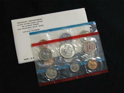 1969 P and D US Mint Uncirculated Coin Set