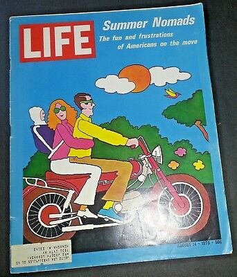 August 14, 1970 LIFE Magazine American Travel advertising ad FREE SHIPPING Aug 8