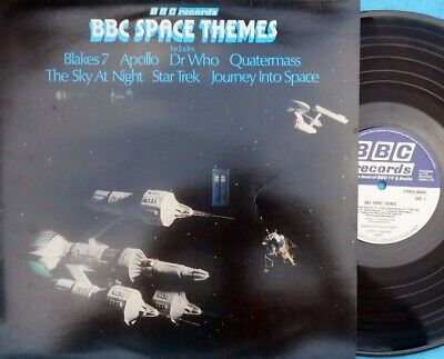 BBC Space themes ORIG UK LP EX '78 REH324 Blakes 7 Dr Who Star Trek Clut Sci-fi